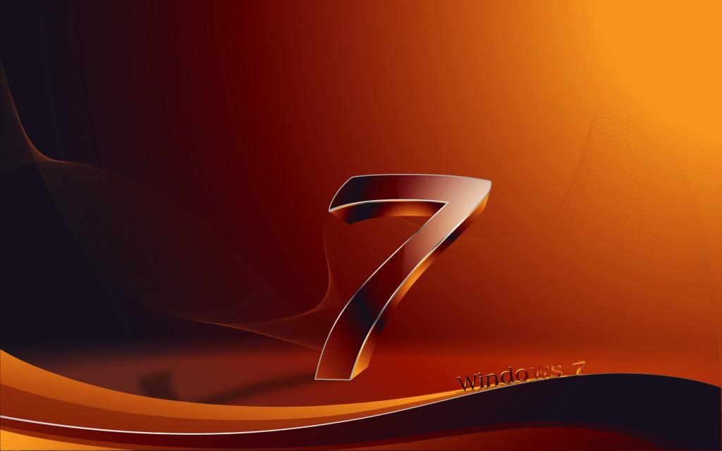 3D Windows 7 Wallpaper