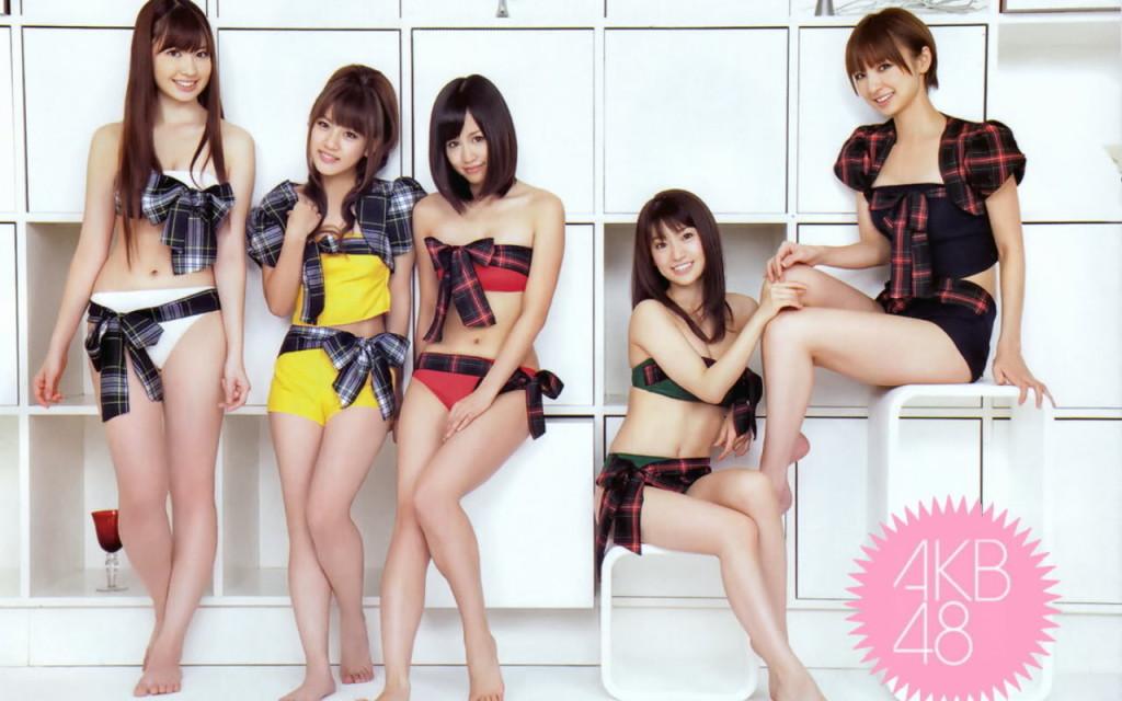 AKB48 Family In Beach Wallpaper
