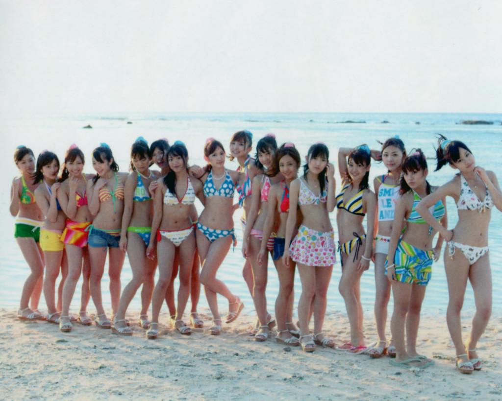 AKB48 In Beach Wallpaper