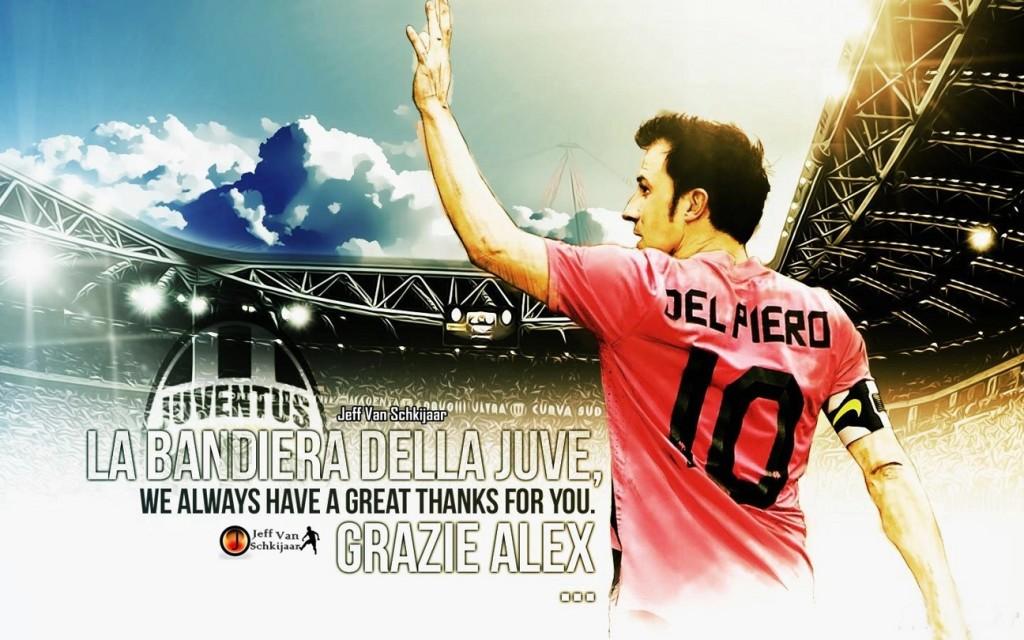 Alex Del Piero Juventus Legend Wallpaper