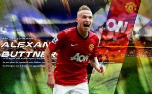 Alexander Buttner 2012-2013 Manchester United