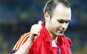 Andres Iniesta HD Wallpaper