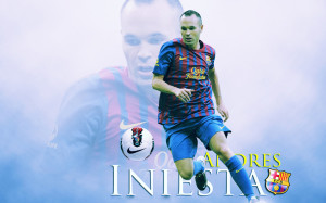 Andres Iniesta wallpaper 2013