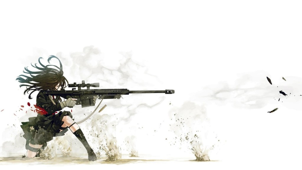 Anime Sniper Hd Wallpaper