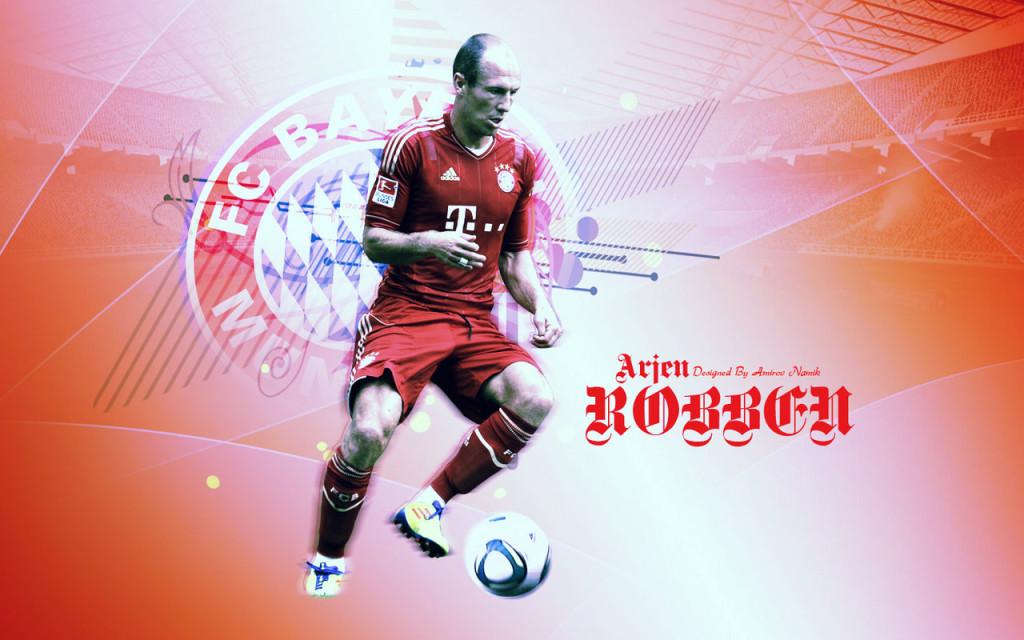 Arjen Robben FC Barcelona 2013 HD Wallpaper
