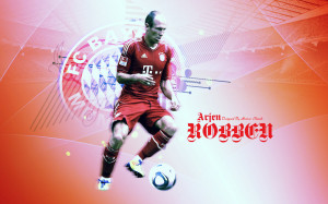 Arjen Robben FC Barcelona 2013 HD Wallpaper