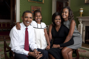 Barack Obama Family Wallpaper