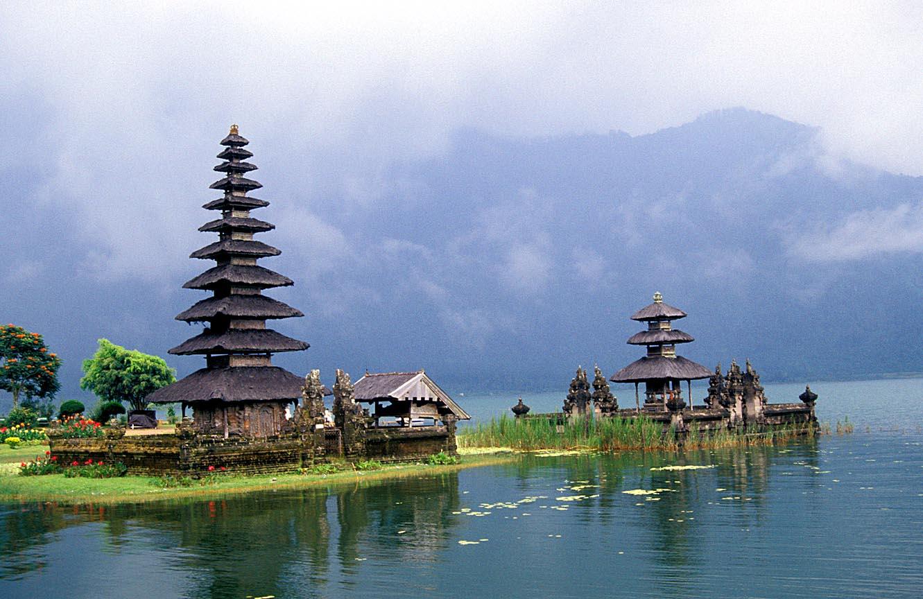 Bedugul Bali Wallpaper Wallpup Com