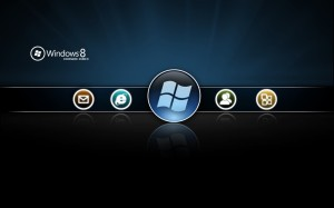 Black Wallpaper Windows 8 Beta
