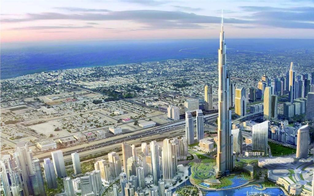 Burj Khalifa Dubai skyscraper WideScreen