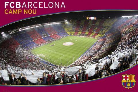 Camp Nou Catalunya Barcelona Stadium