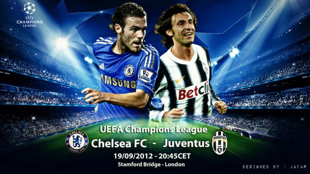 Chelsea Vs Juventus UEFA Champions League 2012-2013