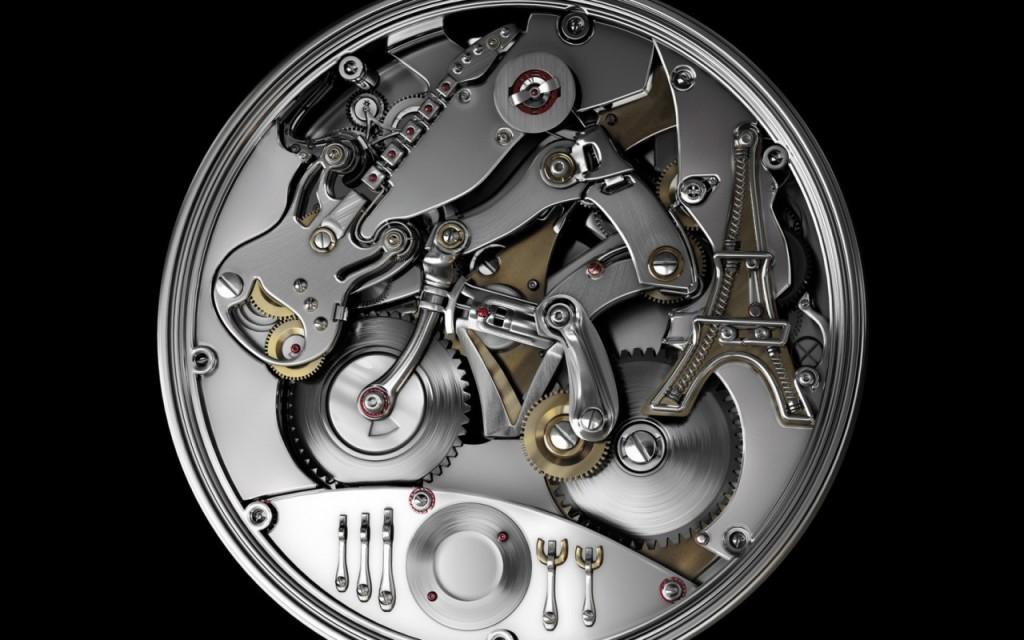 Clock Mechanism Goes Digital
