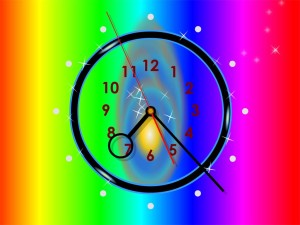Colourful Clock