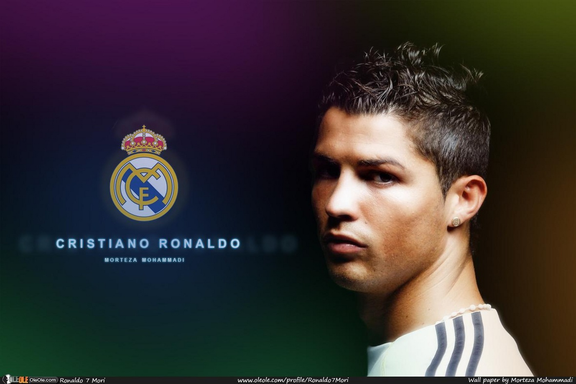 Cristiano Ronaldo 7 Real Madrid For Desktop