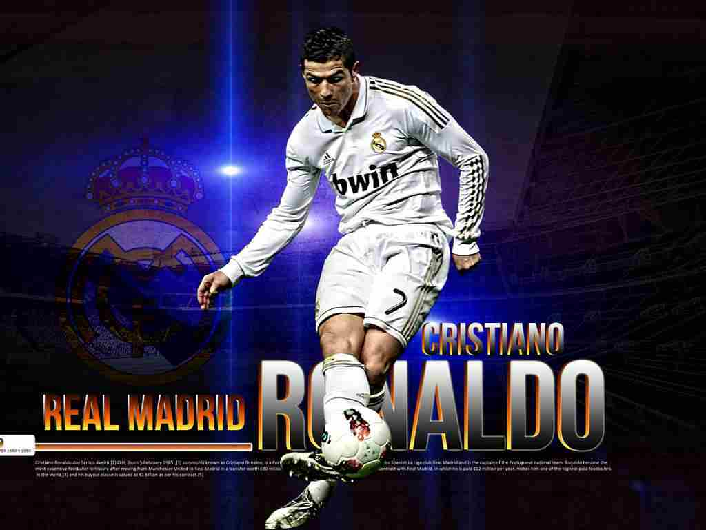 description cristiano ronaldo real madrid 2012 is wallapers for pc