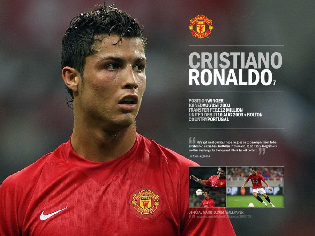 Cristiano Ronaldo With Manchester United