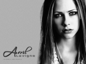 Cute Avril Lavigne Wallpaper 2013