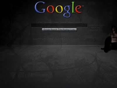 Dark Google Wallpaper