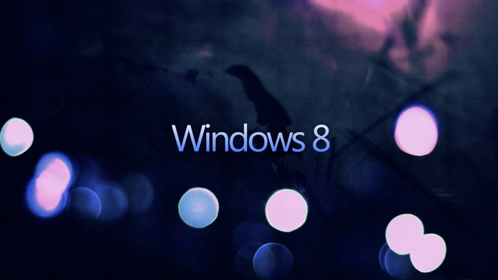 Dark Windows 8 Wallpaper