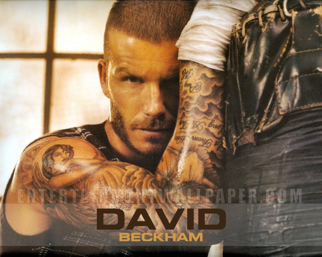 David Beckham Tatto Wallpaper