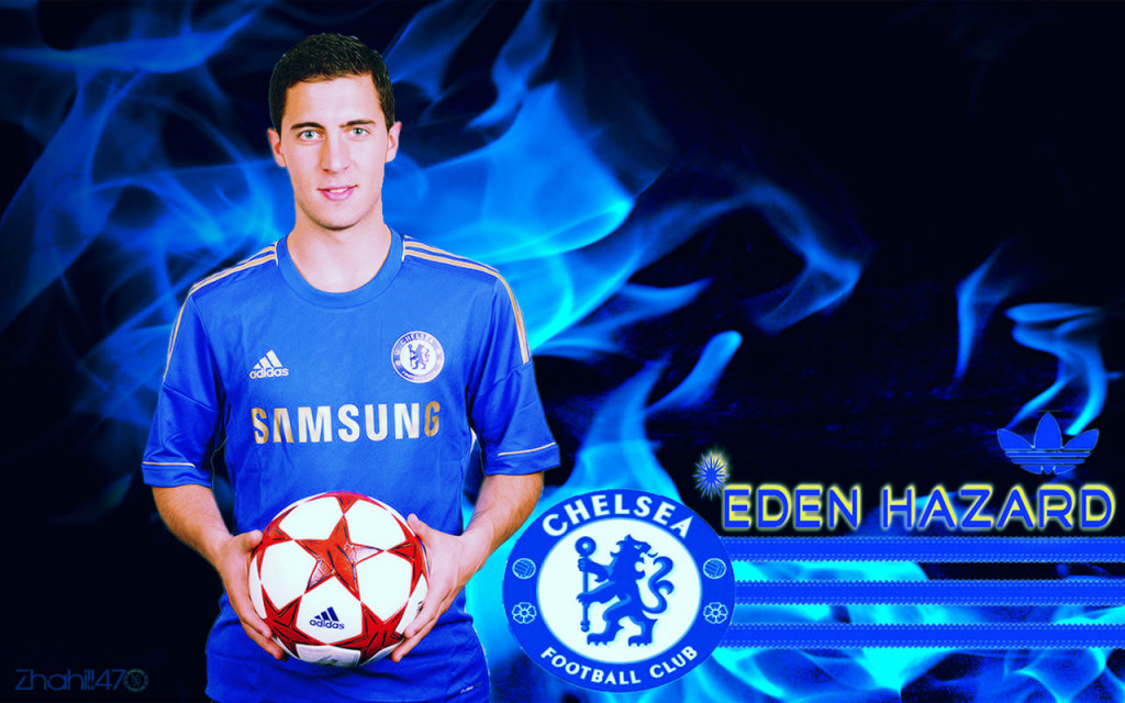 Eden Hazard Chelsea 2012-2013 Wallpaper