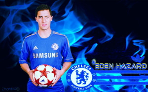 Eden Hazard Chelsea 2012-2013 Wallpaper