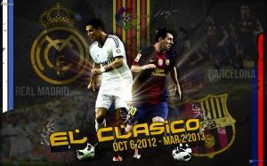 El Clasico Wallpaper 2013