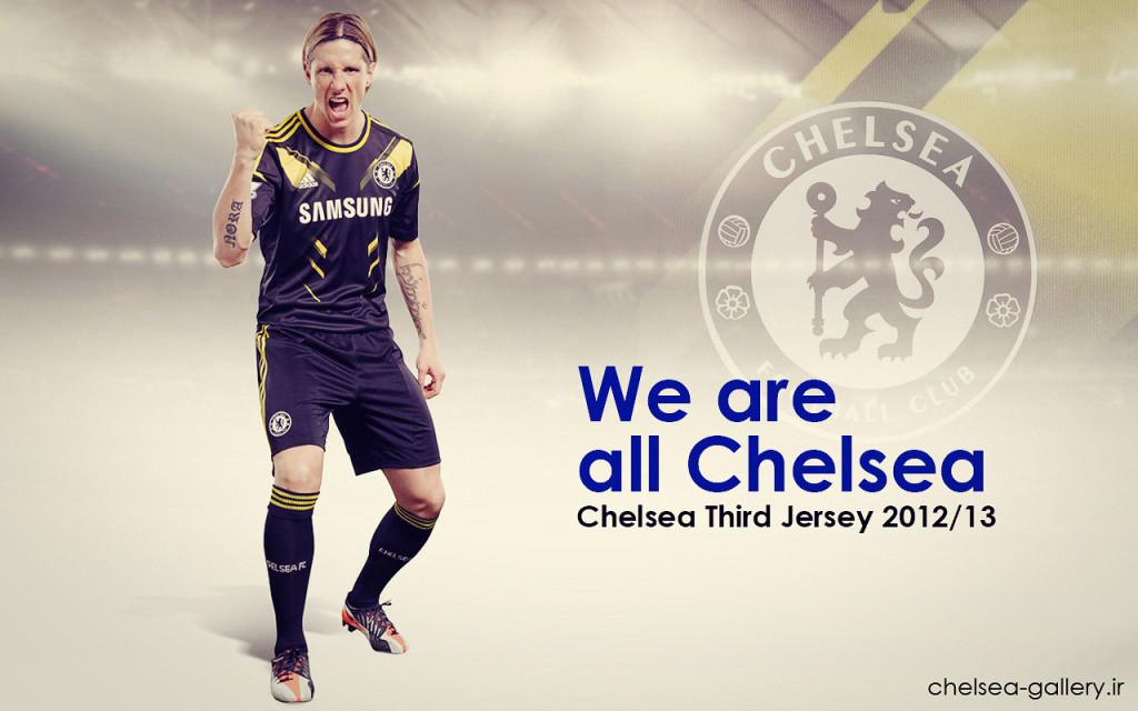 Fernando Torres Chelsea Third Jersey 2012-2013