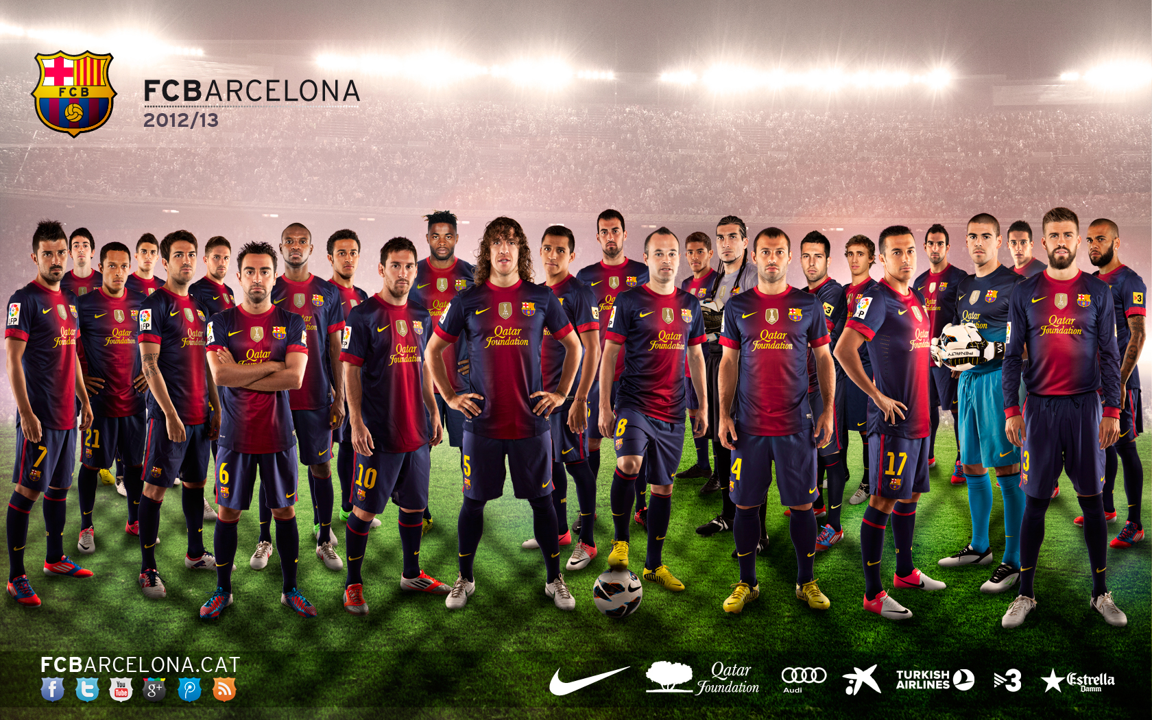Description: First Team Barcelona 2013 Wallpaper is Wallapers for pc
