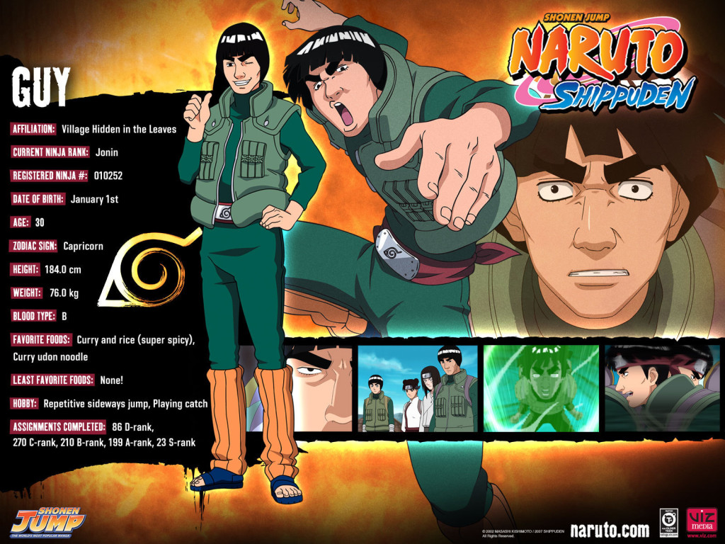 Guy Naruto Shippuden Wallpaper