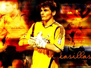 Iker Casilas Real madrid 2013