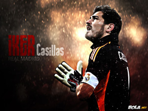 Iker Casilas Real madrid Wallpaper