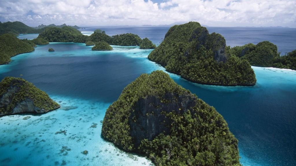 Indonesian Island Scenery