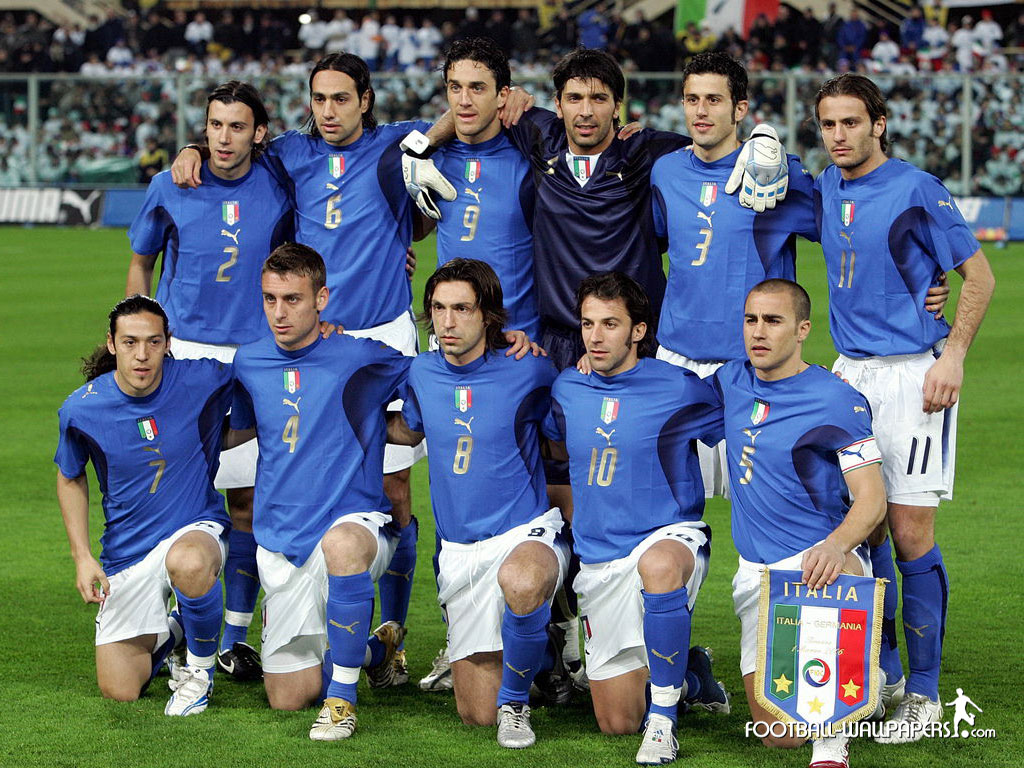 a history of the italian national soccer team Italy's national football team is one of the strongest national teams in the world it is ranked 6th according to the uefa's country coefficient and is only behind brazil in the number of world cup titles.