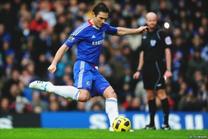 James Lampard Chelsea 2013