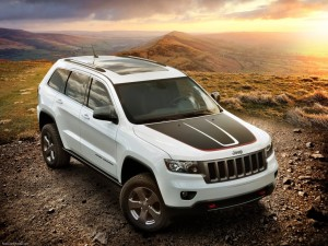 Jeep Grand Cherokee Trailhawk HD Wallpapers