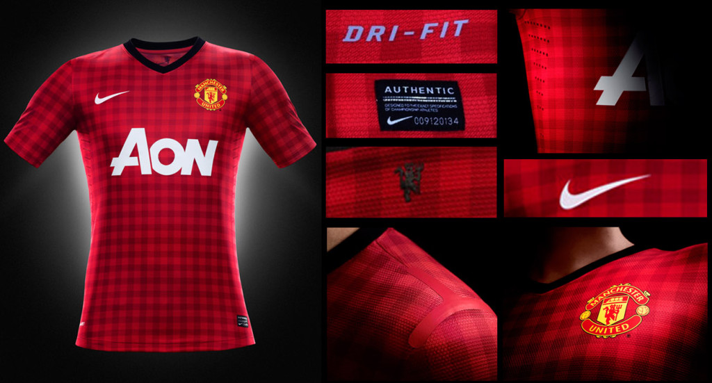 Jersey Manchester United Home 2013