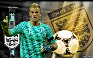 Joe Hart England Euro 2012 HD Wallpaper