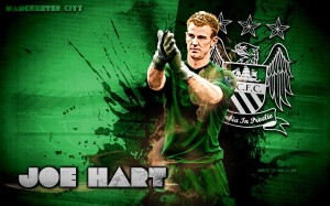 Joe Hart Manchester City 2012-2013 Wallpaper