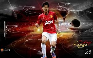 Kagawa Manchester United 2012-2013 Wallpaper