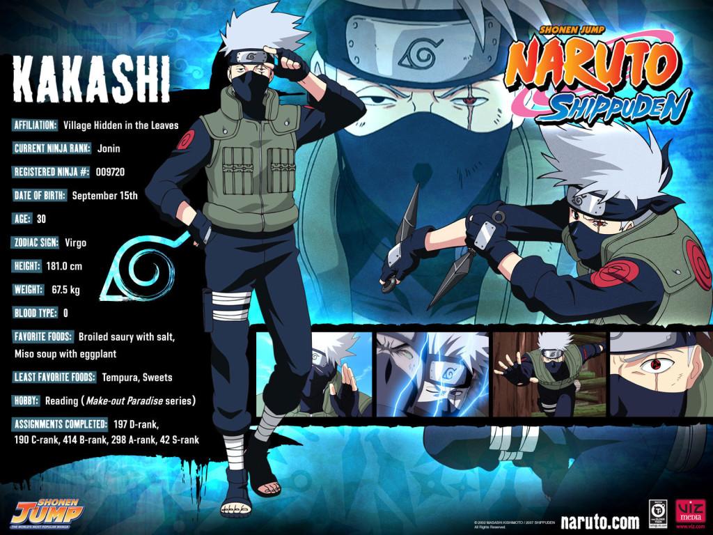 Kakashi Naruto Shippuden Wallpaper