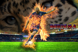 Karim Benzema Real Madrid 2013 Wallpaper