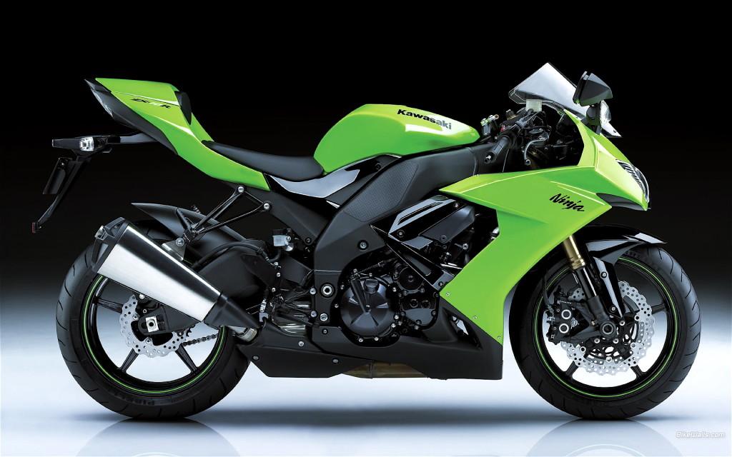 Kawasaki Ninja Green HD Wallpaper