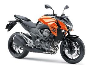 Kawasaki Ninja Z800 Orange