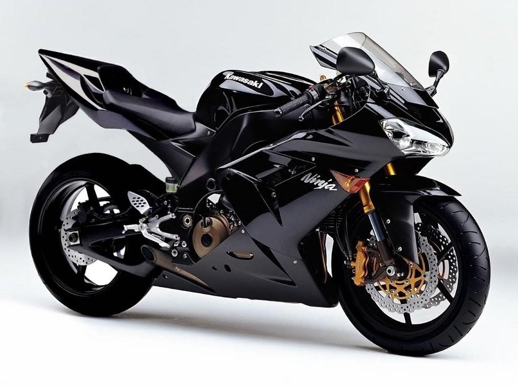 Kawasaki ninja Black Wallpaper