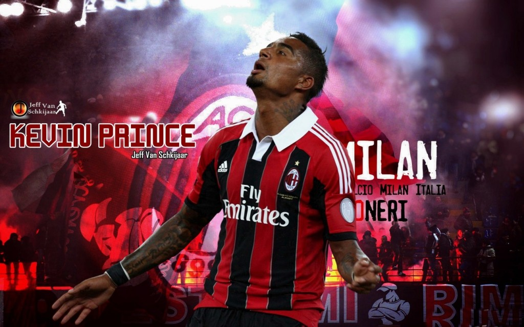 Kevin Prince Boateng AC Milan