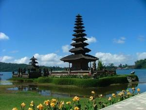Lake Bedugul Bali Indonesian