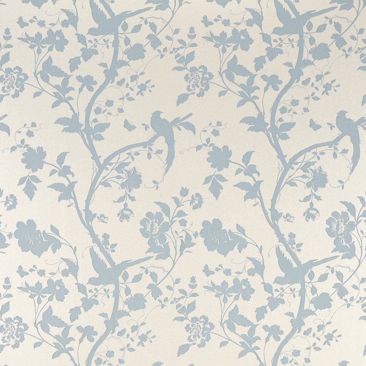 Bedroom Wallpaper Duck Egg