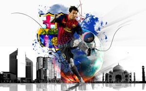 Lionel Messi Wallpaper 2013
